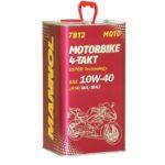 Моторное масло синт. MANNOL Motorbike 4-Takt 10W40