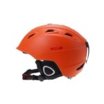 Шлем сноуборд/лыжи NORTH WOLF оранжевый