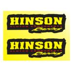 """Наклейки """"HINSON"""" 14*19см"""