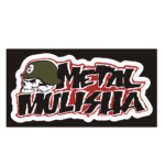 "Наклейка ""METAL MULISHA"" 13*24см"