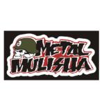 """Наклейка """"METAL MULISHA"""" 13*24см"""