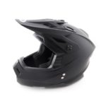 Шлем кроссовый ATAKI MX801 Solid черный