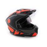Шлем мотард ATAKI FF802 Strike оранжевый/черный матовый