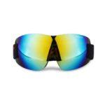 Очки лыжные FEIYU линза зеркальная синяя